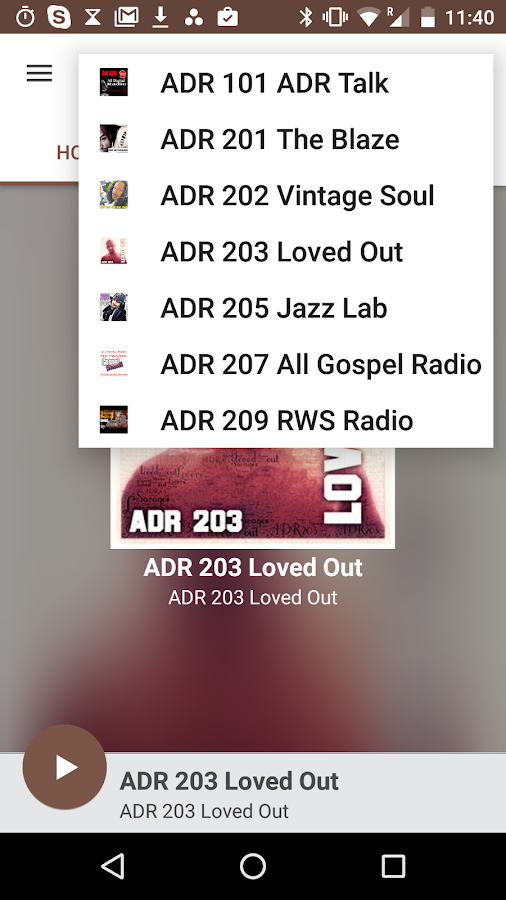 All Digital Radio App- screenshot