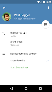 Telegram v3.11.2 Black Color