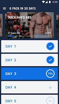 6 Pack in 30 Days - Abs Workout APK screenshot thumbnail 2