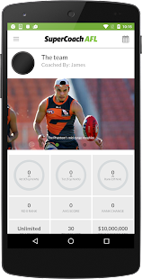 SuperCoach AFL (classic)- screenshot thumbnail