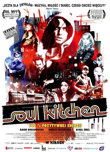 Przód ulotki filmu 'Soul Kitchen'
