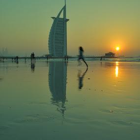 by Carmel Bation - Uncategorized All Uncategorized ( sunset, burj al arab )