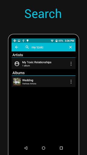 Rocket Music Player screenshot 2