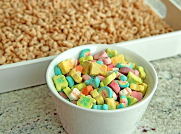 Pick out all the marshmallows (about 2 cups); set aside to add to the...