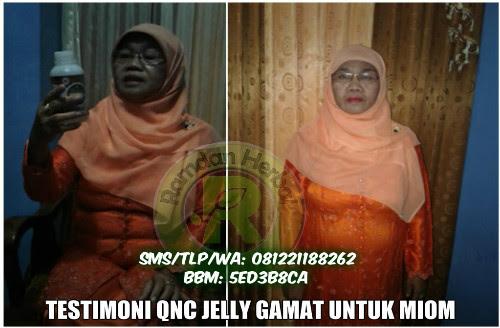 Testimoni Pengguna QnC Jelly Gamat