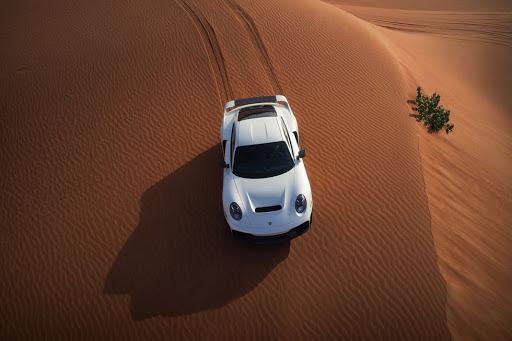 Marc Philipp Gemballa's Marsien pays homage to Porsche's Dakar history