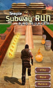 Temple Subway Run Mad Surfer screenshot 0