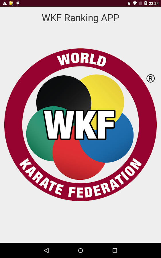 WKF Ranking- screenshot