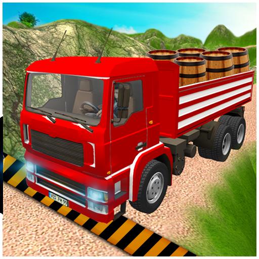 3D Truck Mountain Drive Simulator