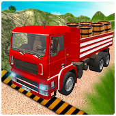 3D Truck Mountain Drive Simulator