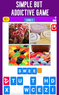 Guess the Word: 4 Pics Quiz - screenshot thumbnail