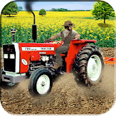 Farm Tractor Harvester & Seeding Simulator 3d