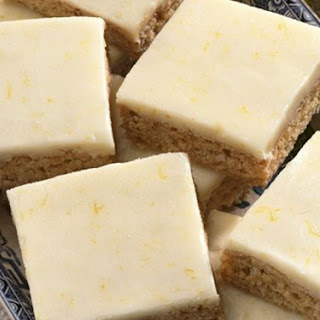 Ginger Coconut Slice.