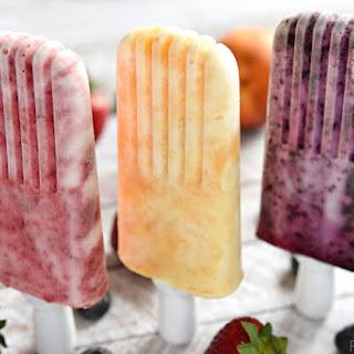 Fruity Yogurt Popsicles