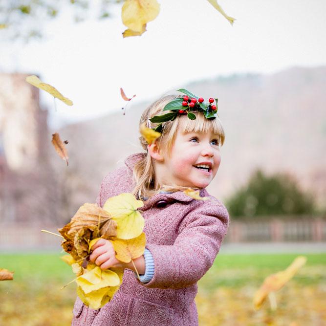 Herbstfotoshooting in Heidelberg.