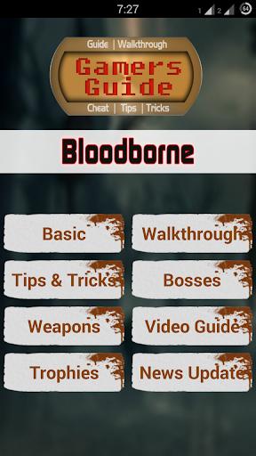 Gamer's Guide for Bloodborne