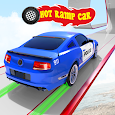 Ramp Police Car Stunts - New Car Racing Games