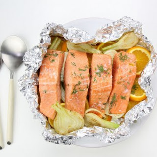 Salmon, Orange and Fennel Bake