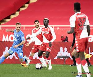 Invaller Diatta en AS Monaco blijven in Franse topper steken op een gelijkspel na dol slot