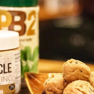 High Protein Peanut Butter Cookie Dough Balls!.