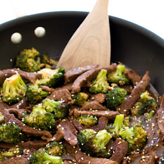 Easy 20 Minute Beef and Broccoli