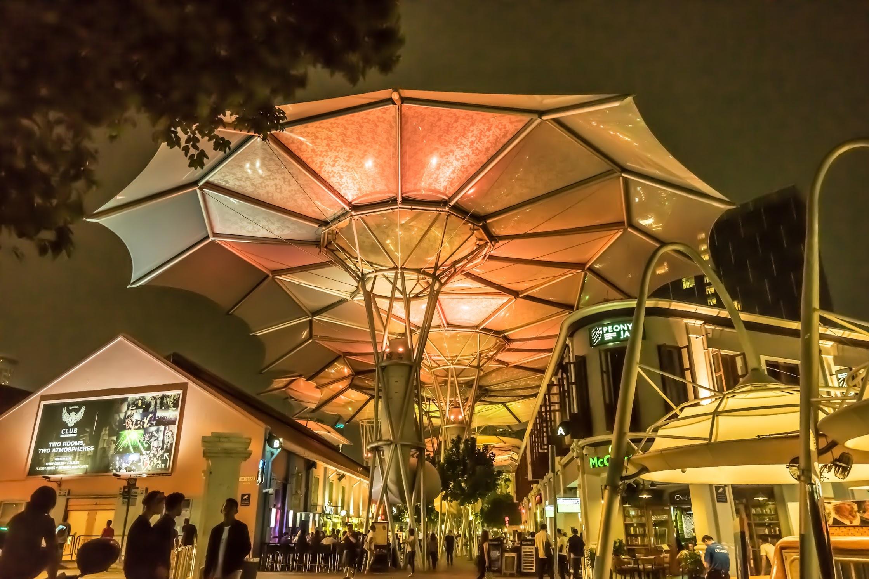 シンガポール クラーク・キー 夜景4