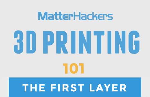 3D printing video - the first layer