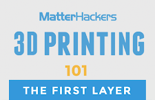 3D Printing Video Tutorial - the first layer