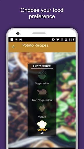 1600+ Potato Recipes Offline Cookbook: Sweet Spicy 1.1.5 screenshots 1