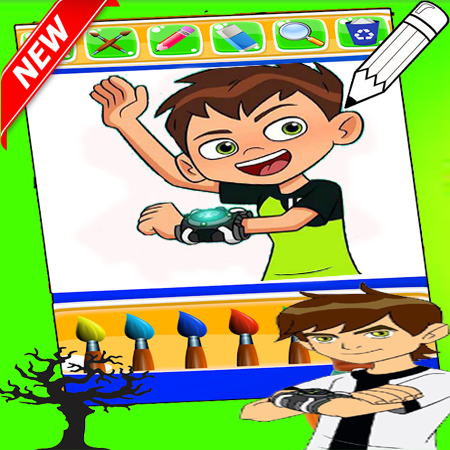 Ben 10 Coloring game 1.0 screenshots 12