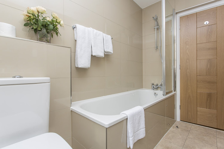 Bathroom at Artillery Lane in Liverpool Street