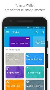 Telenor Wallet - náhled