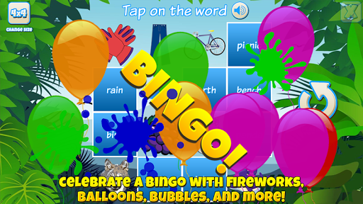 Bingo for Kids android2mod screenshots 3