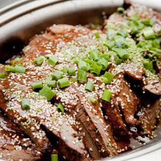 Slow Cooker Teriyaki Beef.