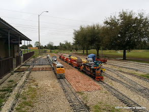 Photo: Trains at the ready - HALS Public Run Day 20150321 Bill Smith Photo