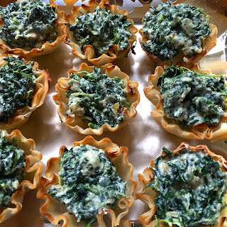 Appetizers With Spinach And Goat Cheese Recipes