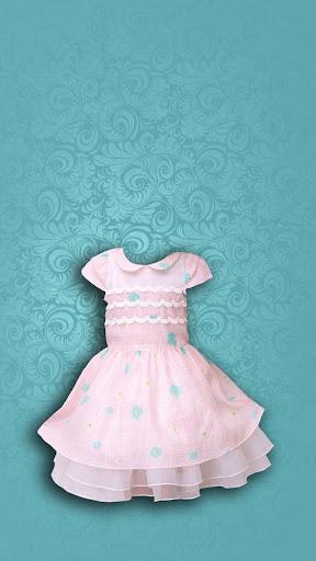 女嬰時尚的照片編輯器