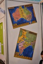 Photo: Nové mapy ke hře Funkenschlag (Vysoké napětí), Austrálie a Indie