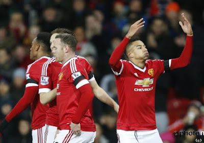 Les supporters de Manchester United protestent