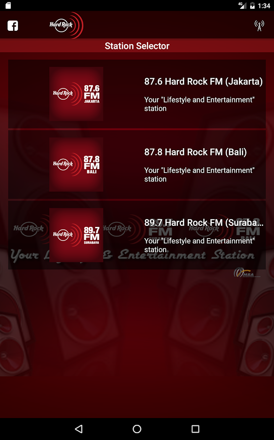 Hard Rock FM- screenshot