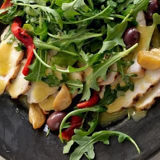 Grilled Chicken Salad with Garlic Confit Recipe