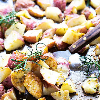 Roasted Parmesan Rosemary Red Potatoes.