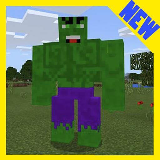 Huge Hulk! Addon MCPE