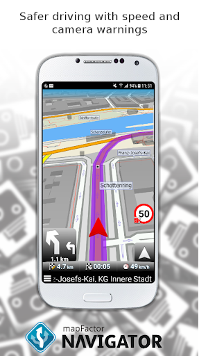 MapFactor GPS Navigation Maps  screenshots 5