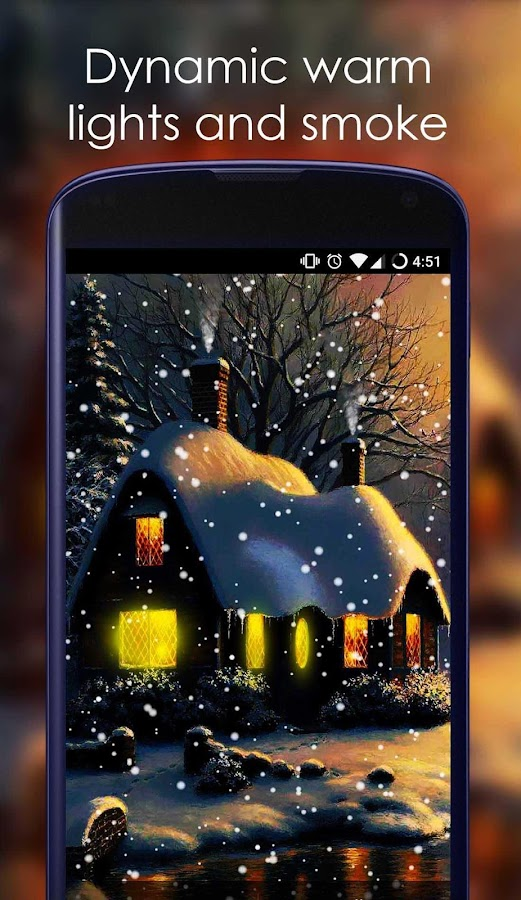 Snow Live Wallpaper- screenshot