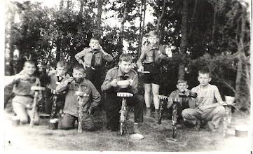 Photo: Obóz w Trelkowie lipiec 1963r.