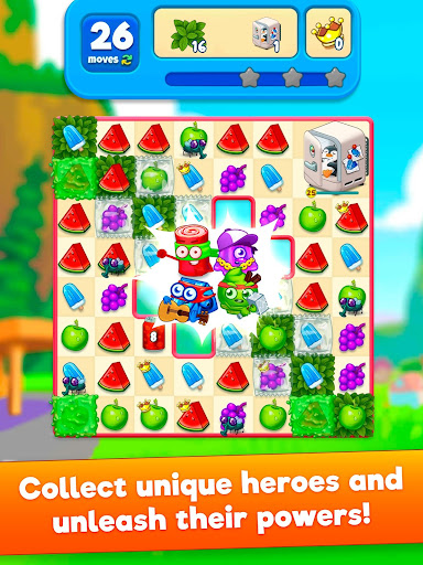 Sugar Heroes - World match 3 game!  screenshots 7
