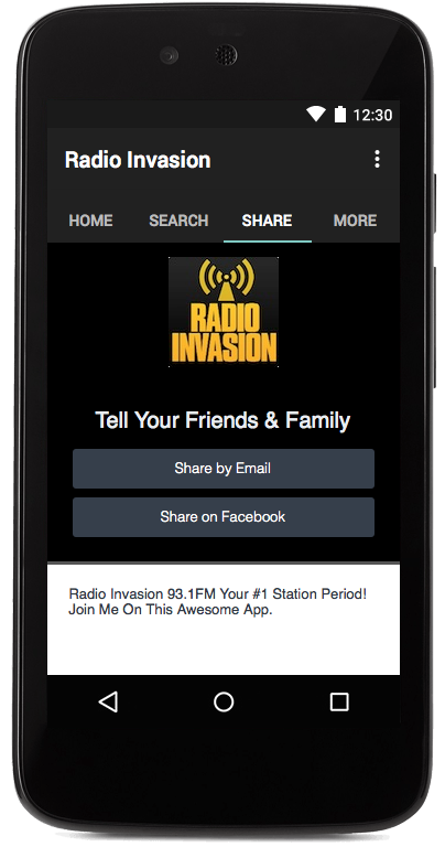 Radio Invasion- screenshot