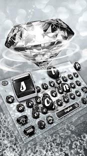 Luxury Diamond Keyboard Theme - náhled