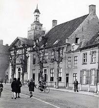Photo: 1935 Dreef met zicht op de Johanneskerk en de kosterij.